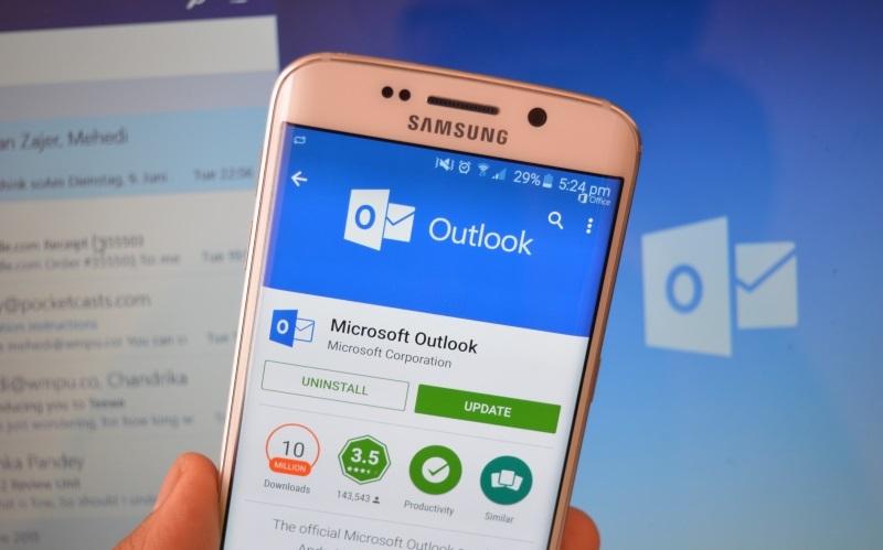 Мобильная версия Microsoft Outlook